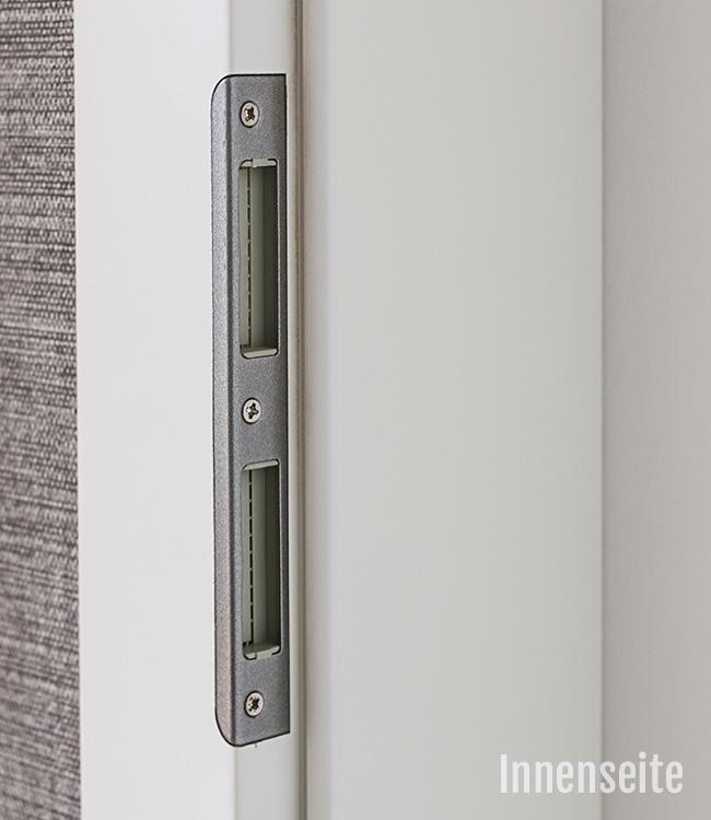 zimmert r mit zarge lackiert wei lack ral 9010 komplettset. Black Bedroom Furniture Sets. Home Design Ideas