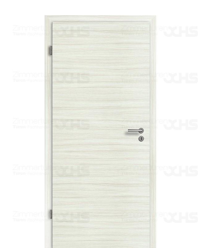 zimmert r set eiche platinwei quer mit 75mm zarge cpl geb rstet dk. Black Bedroom Furniture Sets. Home Design Ideas