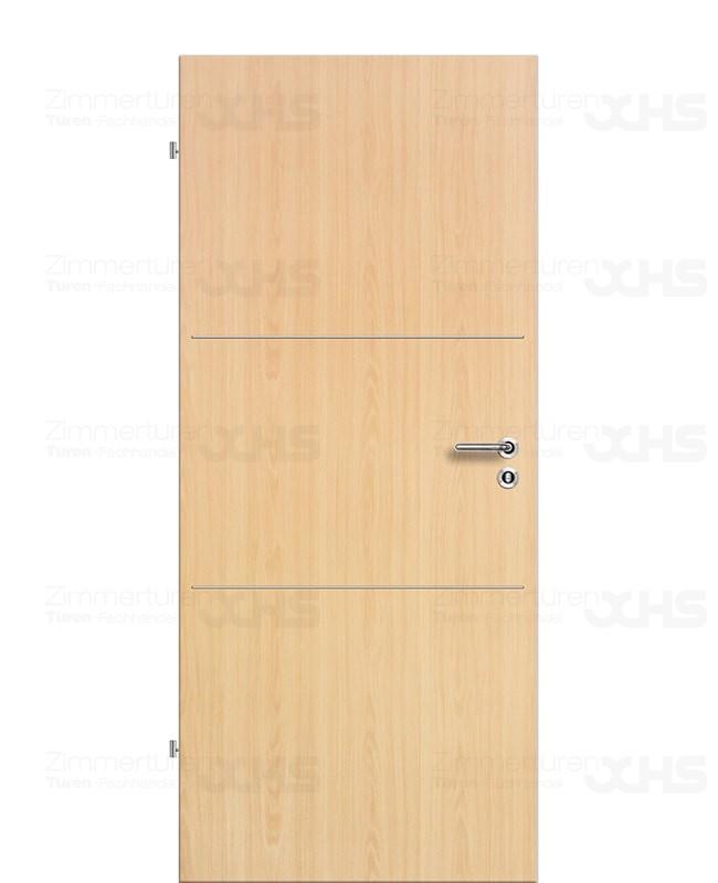 excellence ahorn 2 waagerechte lisenen fl chenb ndig zimmert ren cpl. Black Bedroom Furniture Sets. Home Design Ideas