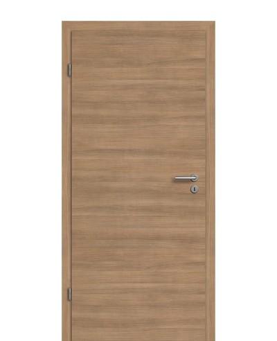 Zimmertür Innentür Türblatt CPL Akazie Terra quer gebürstet RSP Eckkante