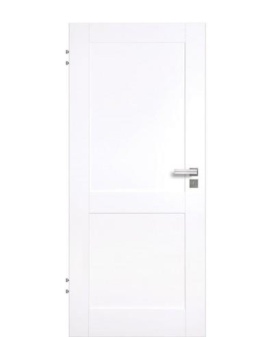 Excellence Veronica 2G Zimmertür Weißlack Vivid CPL 9003 2-Kassetten 198,5cm