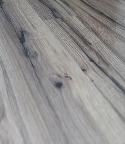 Fußboden klick Laminat TEC 7/31 Eiche Lehmgrau rustikal 6257 1-Stab