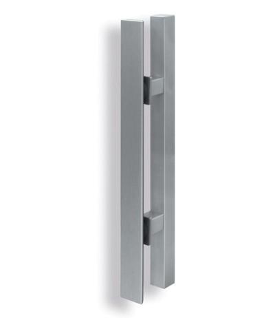 Kombination Griffstande Griffleiste 200mm eckig 25x25mm