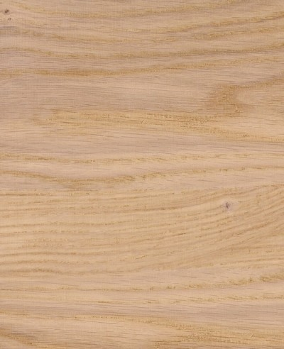 Oberflächen-Mustertafel Furnier gebürstet Eiche matt lackiert-quer