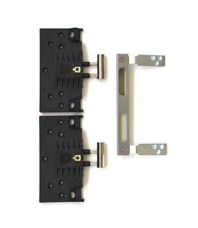 Sicherheitsset aus verstärkten Bandtaschen, Sicherhheitsschließblech und Rahmenteil V4400 WF