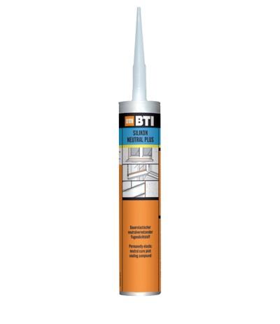 BTI Silikon Neutral plus transparent 310 ml Kartusche