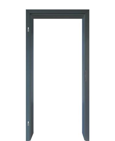 Türzarge / Zarge CPL Anthrazitgrau 7016 (Grau) mit 60mm Designkante