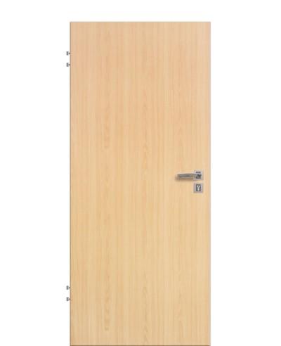 Wohnungseingangstür / Schallschutztür Ahorn CPL Rundkante 198,5cm