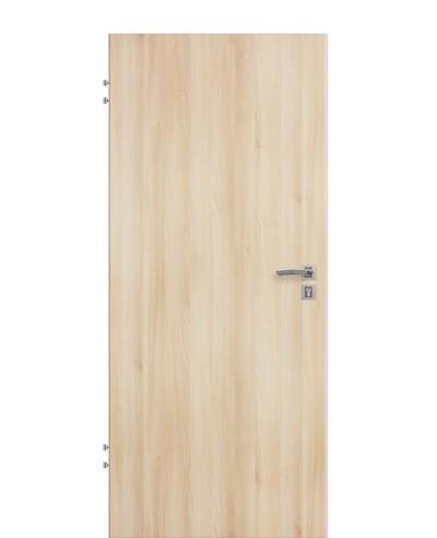 Wohnungseingangstür / Schallschutztür Akazie CPL Rundkante 198,5cm