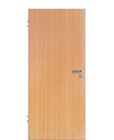 Wohnungseingangstür / Schallschutztür Buche CPL Rundkante 198,5cm