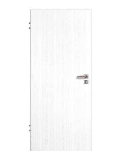 Wohnungseingangstür / Schallschutztür Esche weiß CPL Rundkante 198,5cm