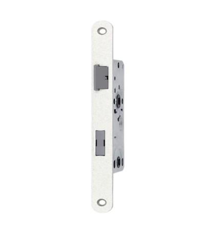 Zimmertür Einsteckschloss WC BAD Klasse 1 Silber Grau