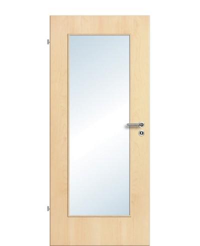 Furnier Zimmertür / Innentür Lichtausschnitt LA 1