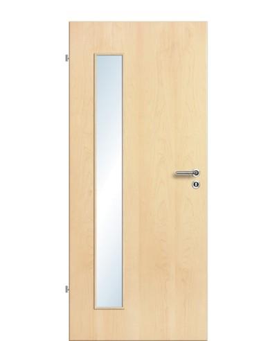 Furnier Zimmertür / Innentür Lichtausschnitt LA B