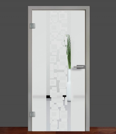 Zimmertür Innentür Türblatt Ganzglastür Glastür Glas Tür 8mm ESG 3D Motiv Vasti 71