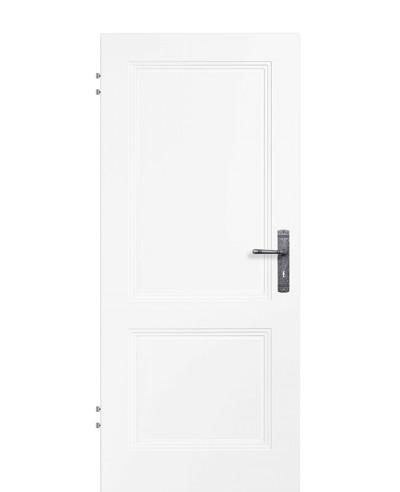 Zimmertür Innentür Türblatt Füllungsprofiltür Weißlack Kopa 2G RSP Eckkante