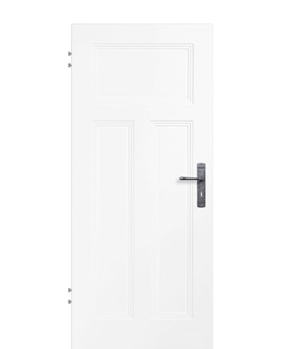 Zimmertür Innentür Türblatt Füllungsprofiltür Weißlack Kopa 3G AD2 RSP Eckkante