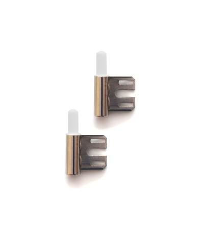 2x Rahmenteil Bandunterteil 2tlg. V4400 WF Stahlzarge