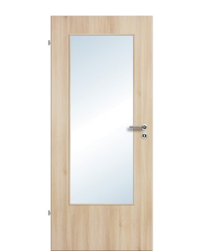 Zimmertür / Innentür Lichtausschnitt CPL Akazie LA DIN