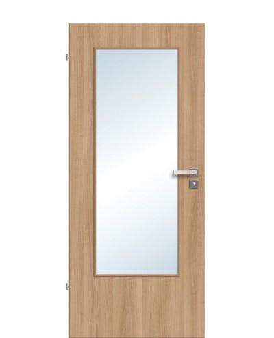 Zimmertür / Innentür Lichtausschnitt CPL Noce LA DIN