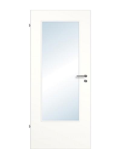 Zimmertür / Innentür Weißlack 9010 SMH Rundkante