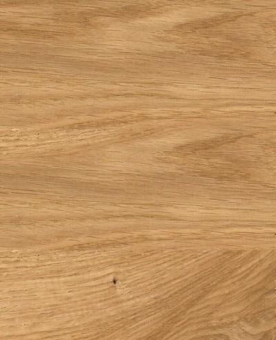 Oberflächen-Mustertafel Furnier Eiche Natur geölt-quer