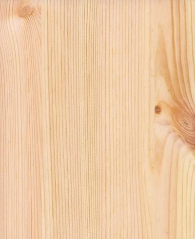Oberflächen-Mustertafel Massivholz Kiefer astig roh