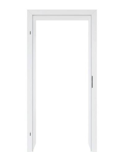 Türzarge CPL Weißlack 70mm Zarge mit Designkante RAL 9003 198,5cm