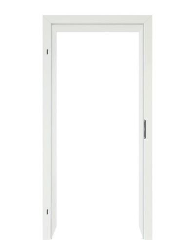 Türzarge Weißlack Eco 70mm Zarge mit Designkante