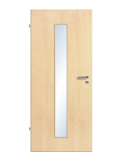 Furnier Zimmertür / Innentür Lichtausschnitt LA M
