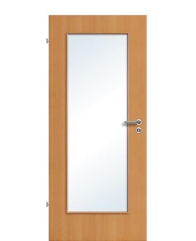 Furnier Zimmertür / Innentür Buche Lichtausschnitt LA 1