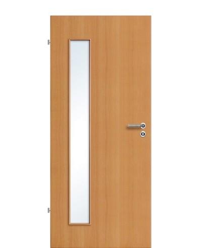 Furnier Zimmertür / Innentür Buche Lichtausschnitt LA B