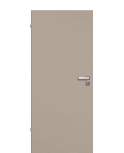 Zimmertür / Innentür Graubeige CPL Rundkante