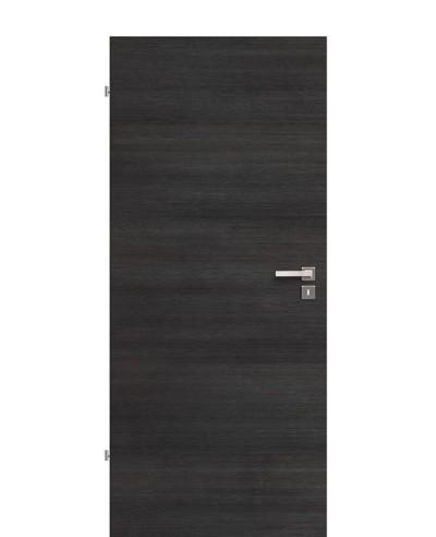 Innentür / Zimmertür Nero-Fineline-quer-strukturiert CPL eckige Kante 211,0cm