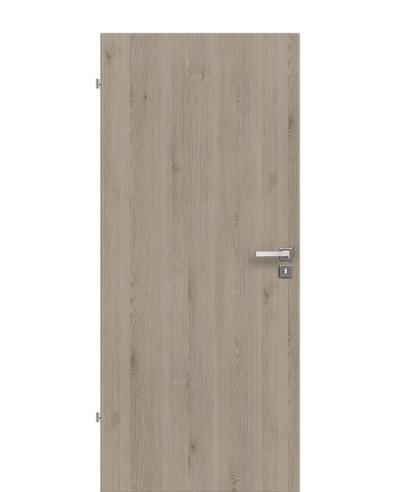 Zimmertür / Innentür Pinie-Silvergrey CPL Rundkante