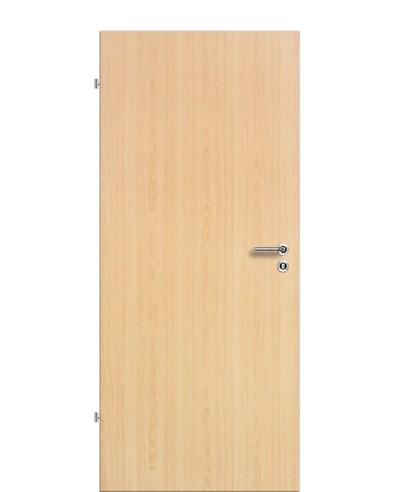 Zimmertür Innentür Türblatt SMH Soft-Melaminharz Tür Holztür Ahorn Wabeneinlage Rundkante