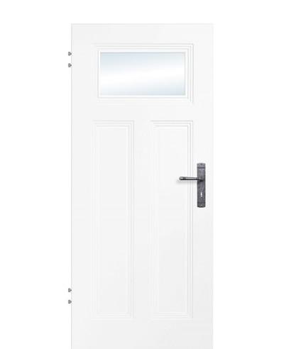 Zimmertür / Innentür Weißlack 9010 Lichtausschnitt 3G AD2