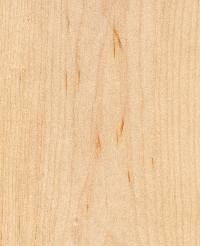 Ahorn Echtholzfurniert - Oberfläche