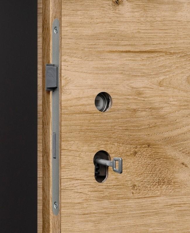 eiche astig quer 2 waagerechte lisenen fl chenb ndig zimmert ren cpl dk. Black Bedroom Furniture Sets. Home Design Ideas