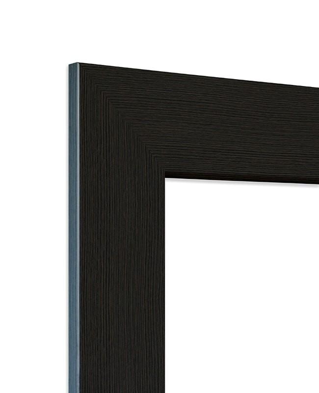 zarge eiche graphit cpl geb rstet 75mm designkante r2 211 0cm. Black Bedroom Furniture Sets. Home Design Ideas