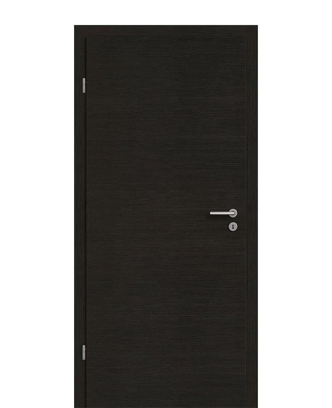zimmert r set eiche graphit quer mit 75mm zarge cpl geb rstet ek. Black Bedroom Furniture Sets. Home Design Ideas