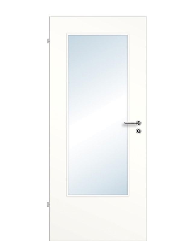Gut gemocht Zimmertüren RK Weiß 9010 CPL großer-DIN-Lichtausschnitt HV23