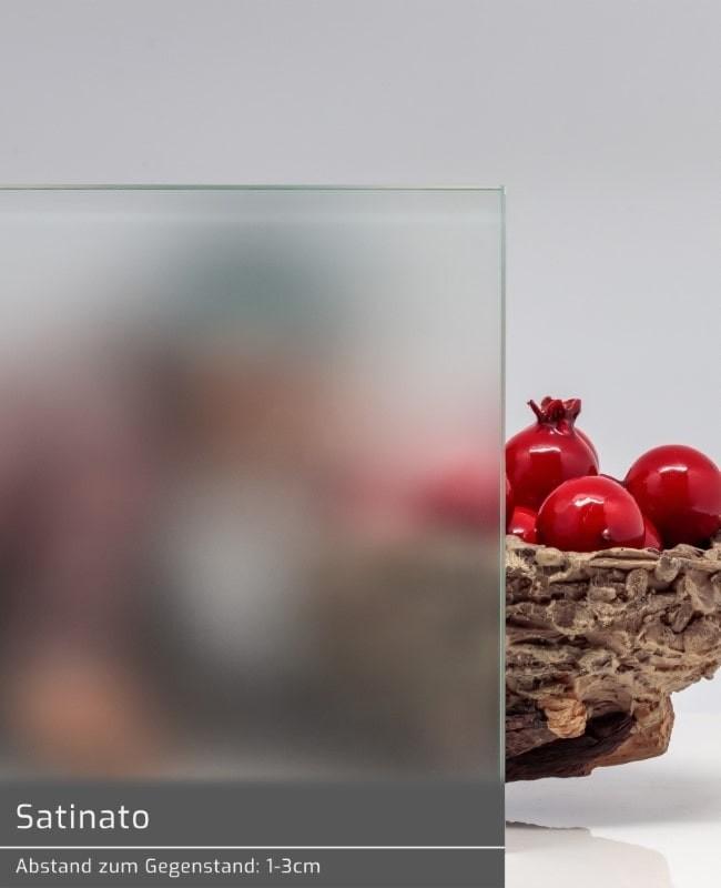 Glastur Satiniert 8mm Esg Satinato Ganzglasturen