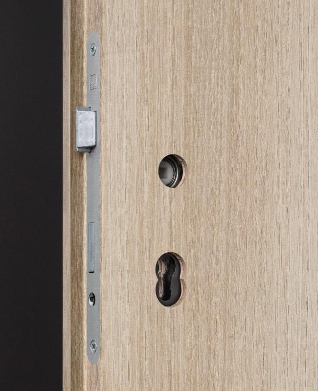 Wohnungseingangstur Schallschutztur Akazie Cpl Sk1 S32 Kk3 Rk