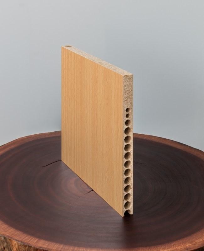 Zimmertür mit Zarge CPL Buche Türelement Komplettset Türzarge 60mm Designkante