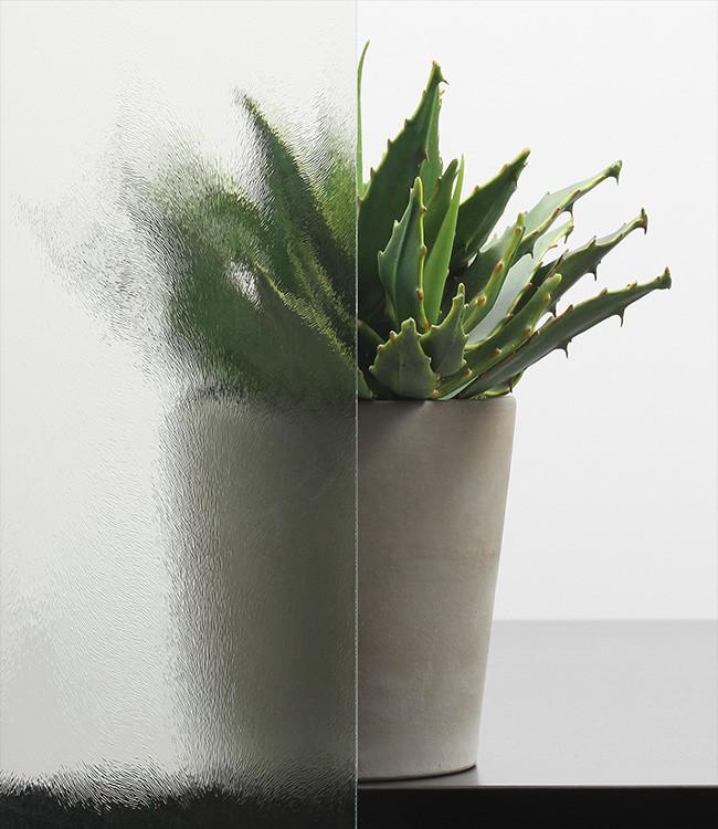 Chinchilla weiß Ornamentglas-Verglasung