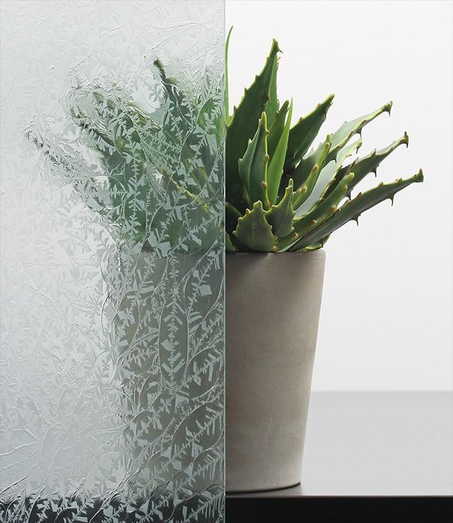 Eisblume Ornamentglas-Verglasung