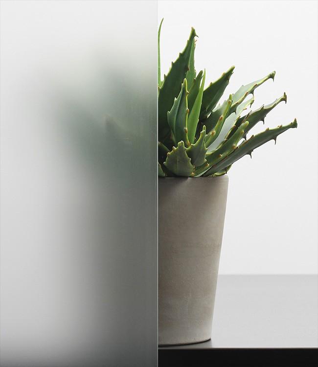 Satinato Ornamentglas-Verglasung satiniert/matt