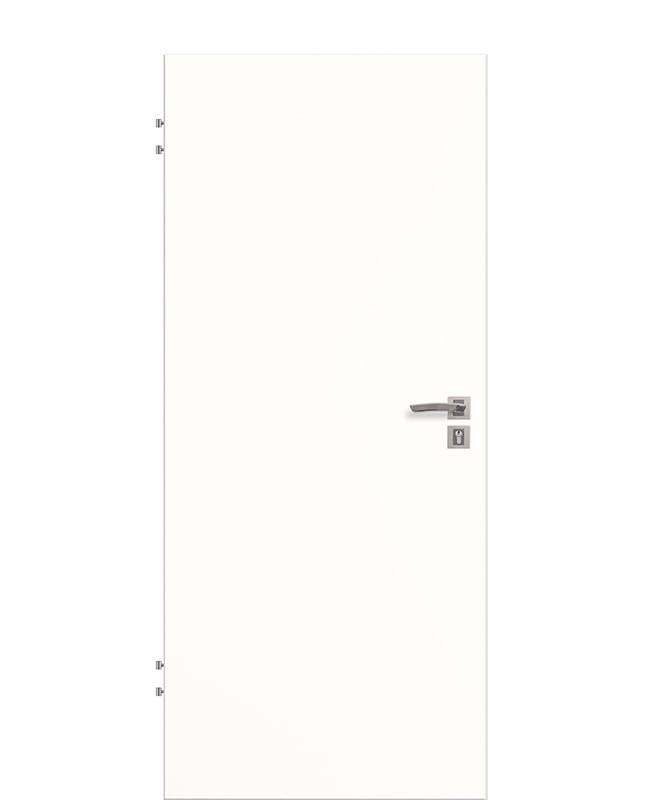 Wohnungseingangstur Schallschutztur Weiss Cpl 9010 Sk1 S32 Kk2 Rk