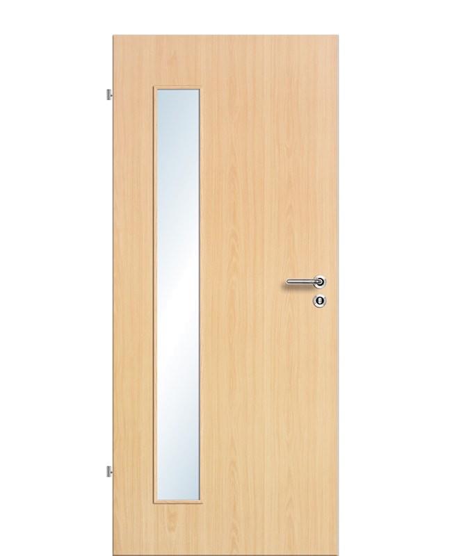 Zimmertür / Innentür Ahorn CPL Lichtausschnitt LA B